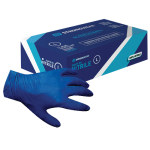 Nitrile Light Blue Powder Free Glove (100)