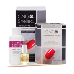 CND REMOVER WRAP AT HOME KIT CREATIVE NA