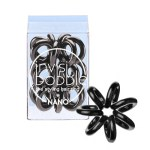 invisibobble Nano True Black Hair Ring (3 pack)