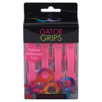 Framar Pink Rubberized Jaw Clips 4/pack