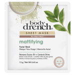 GREEN MATTIFYING MUD SHEET MASK BODY DRE