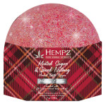Hempz Holiday Collection Minted Sugar and Spiced Nutmeg Herbal Bath Fizzer 7oz