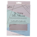 GREY VERY NECESSARY SATIN PILLOW CASE