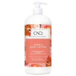 CND Scentsations Mango and Coconut Lotion 31oz