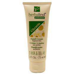Herbalind Glycerin Silicon Hand Cream Fragrance Free 75ML