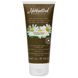 Herbalind Glycerin Silicon Hand Cream Fragrance Free 200ML