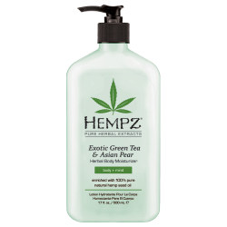 Hempz Exotic Green Tea and Asian Pear Herbal Body Moisturizer 17oz