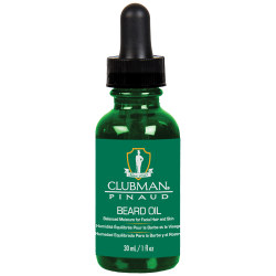 1OZ BEARD OIL CLUBMAN