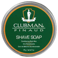 2.5OZ CLUBMAN SHAVE SOAP