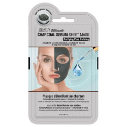 Satin Smooth  Charcoal Purifying and Pore Refining Sheet Mask