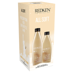 ALL SOFT HOL18 SHAMP/COND DUO REDKEN