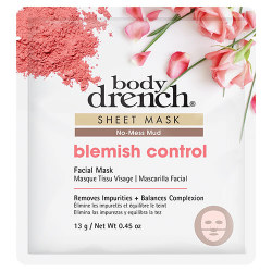 RED BLEMISH CONTROL MUD SHEET MASK BD