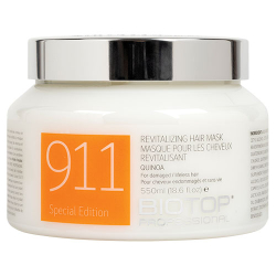 550ML 911 QUINOA HAIR MASK BIOTOP PROFES