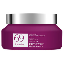 Biotop Professional 69 Curly Pro Active Hair Mask 350ml